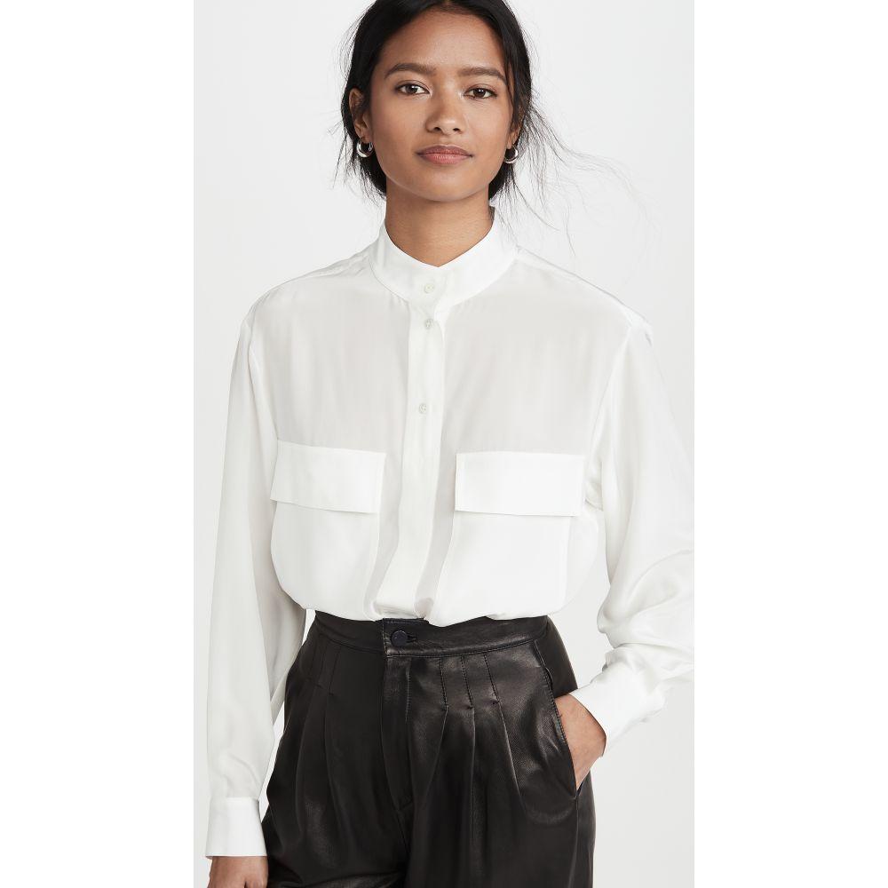フレーム FRAME レディース ブラウス・シャツ トップス【Clean Safari Shirt】Off White