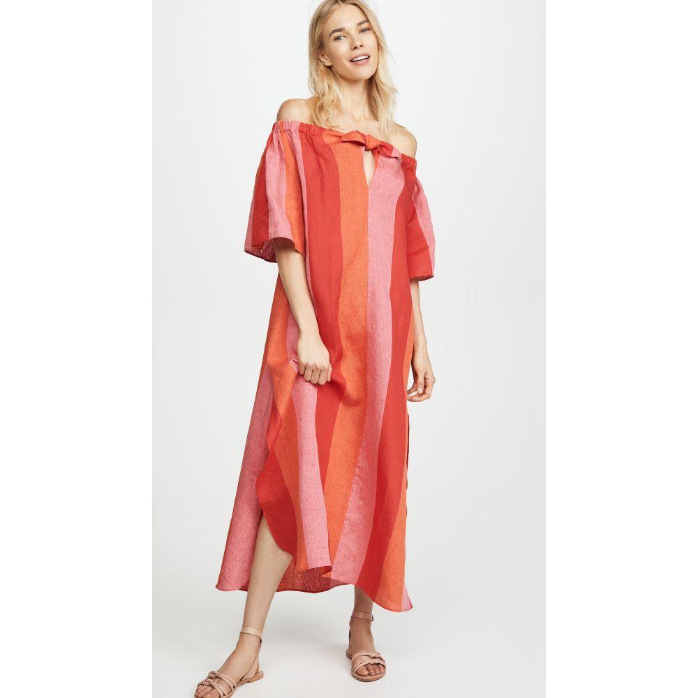 マラ ホフマン Mara Hoffman レディース ビーチウェア ワンピース・ドレス 水着・ビーチウェア【Kamala Dress】Red Multi