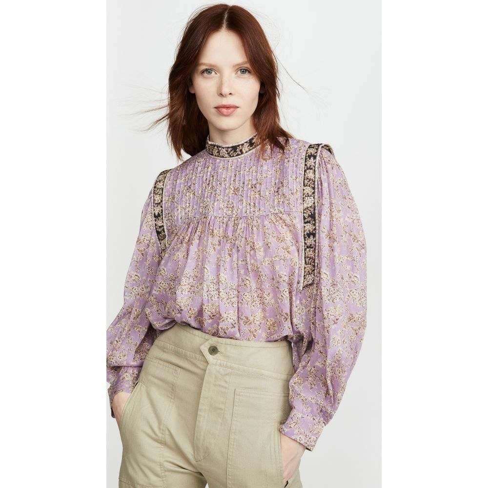 イザベル マラン Isabel Marant Etoile レディース ブラウス・シャツ トップス【Vega Blouse】Lilac