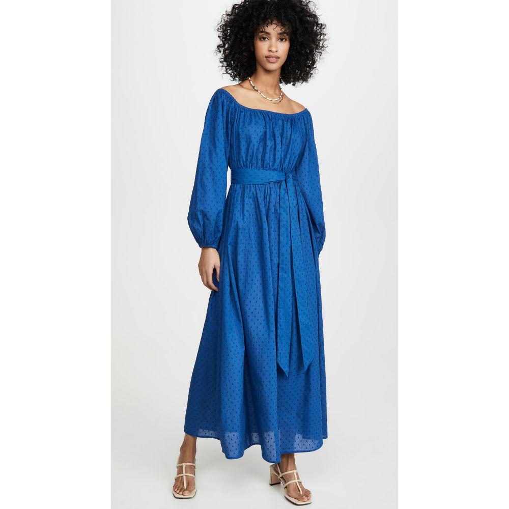 マラ ホフマン Mara Hoffman レディース ビーチウェア ワンピース・ドレス 水着・ビーチウェア【Malika Dress】Blue
