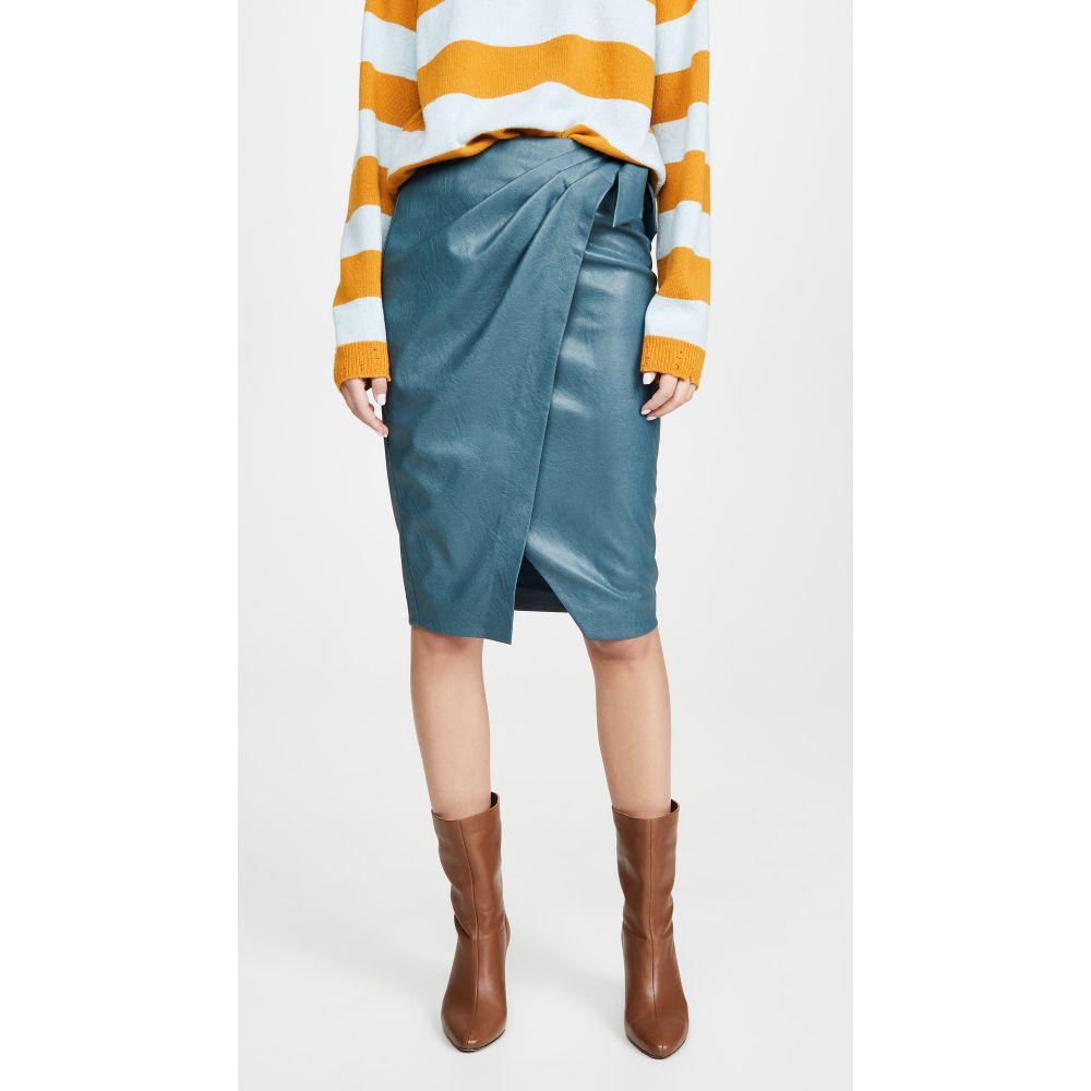 レベッカ テイラー Rebecca Taylor レディース スカート 【Vegan Leather Skirt】Wave