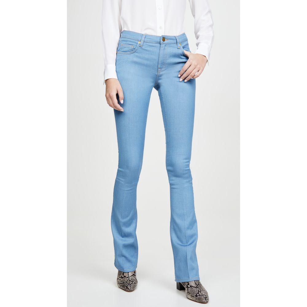 ヴィクトリア ベッカム Victoria Victoria Beckham レディース ジーンズ・デニム ボトムス・パンツ【Slim Flare Jeans】Sky Blue