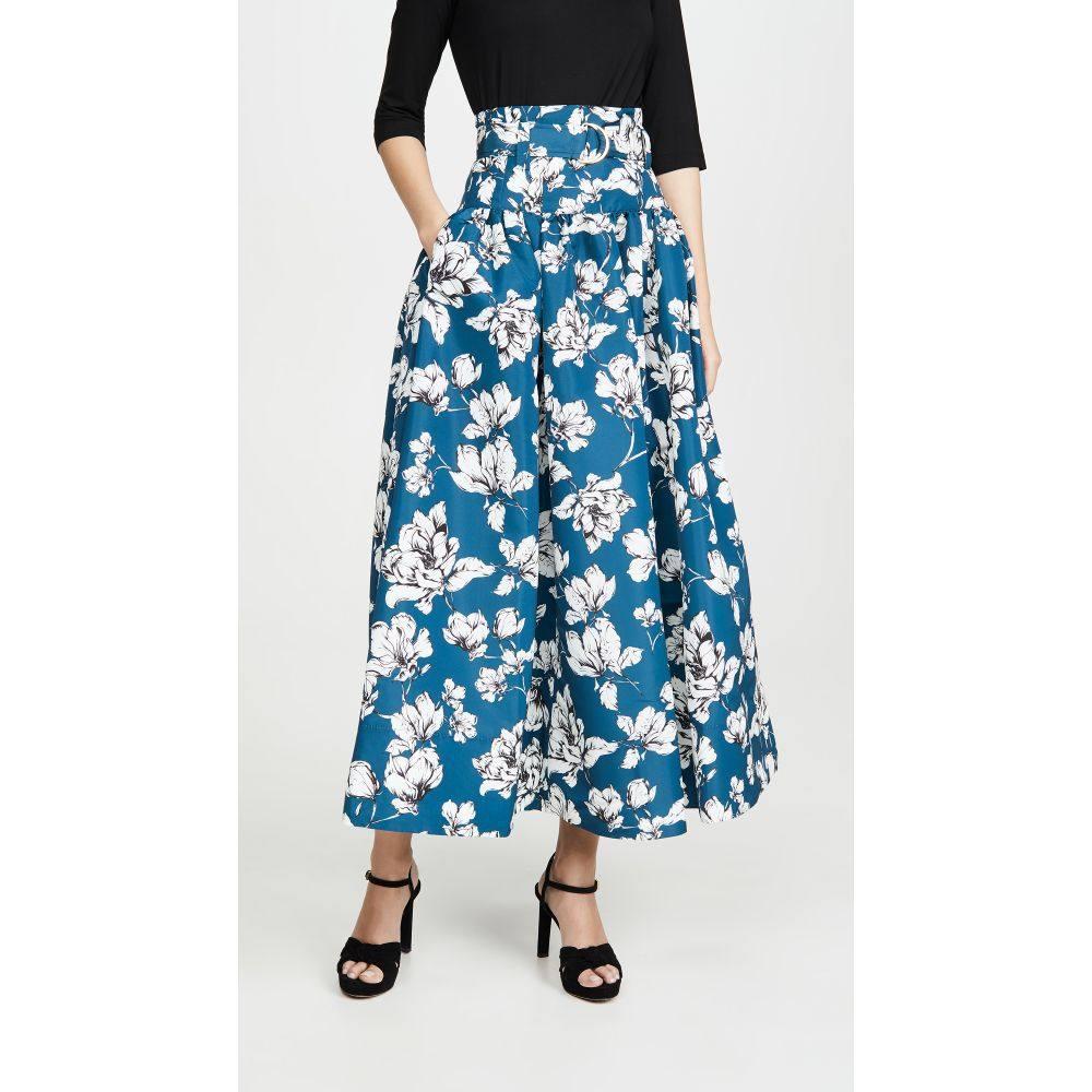 アムール AMUR レディース スカート 【Fatima Skirt】Teal Wild Rose