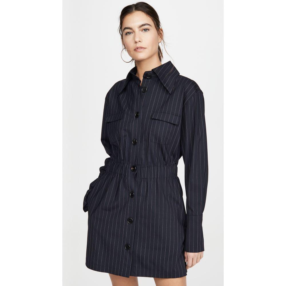 ゲージ81 GAUGE81 レディース ワンピース ワンピース・ドレス【Cairo Dress】Navy Pinstripe
