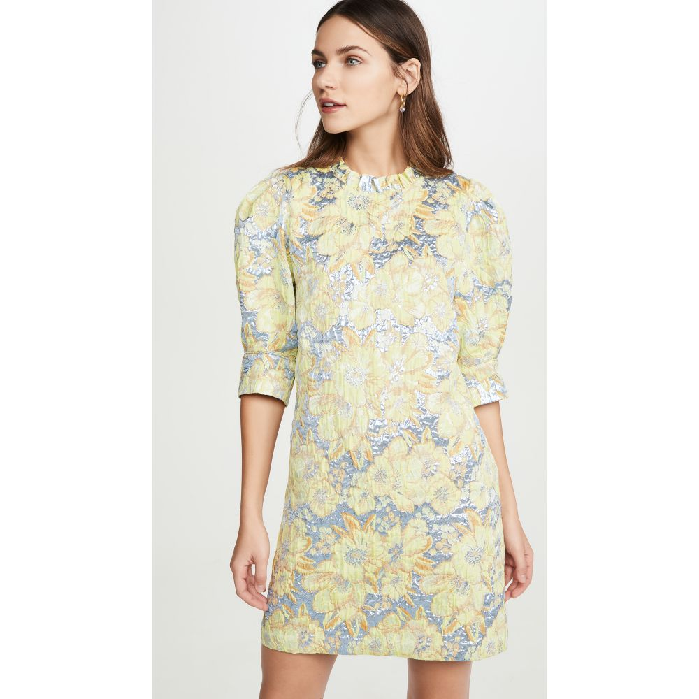 ホフマン コペンハーゲン Hofmann Copenhagen レディース ワンピース ワンピース・ドレス【Nina Dress】Lemon Grass