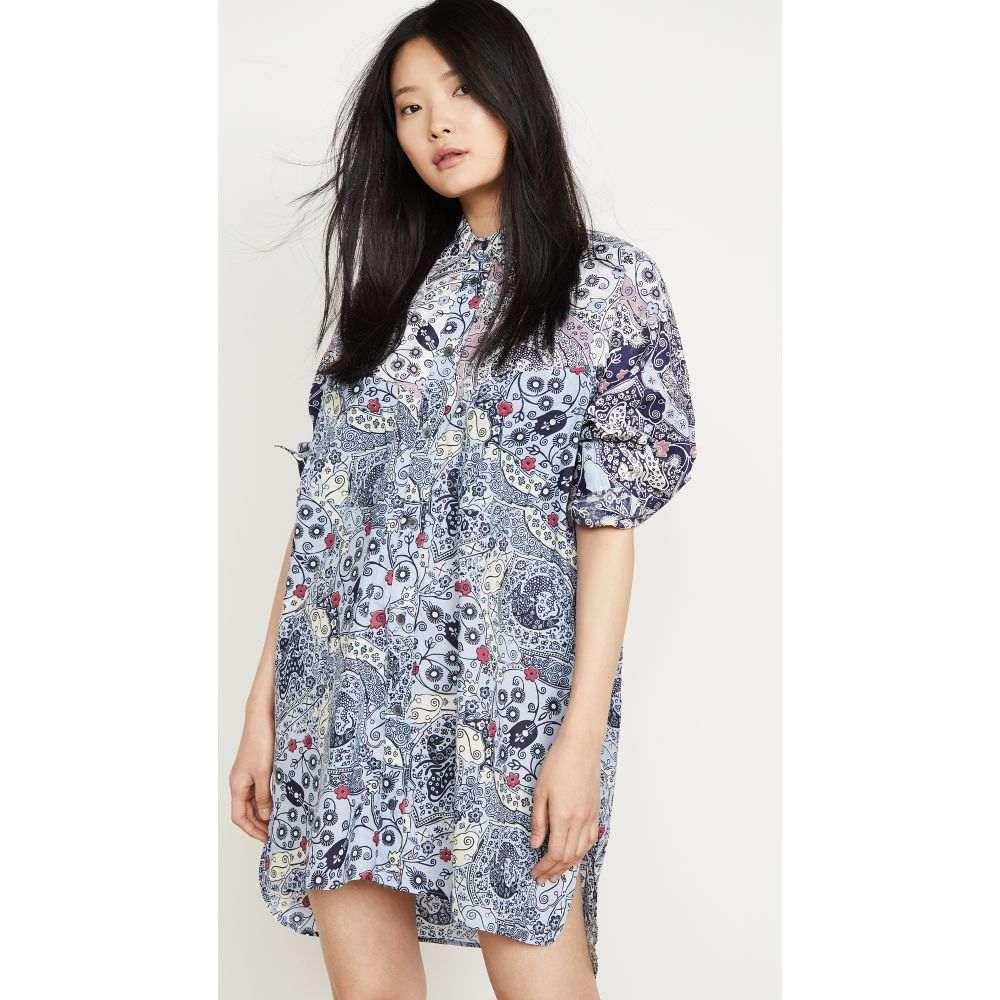 イザベル マラン Isabel Marant Etoile レディース ワンピース ワンピース・ドレス【Ussaya Dress】Blue