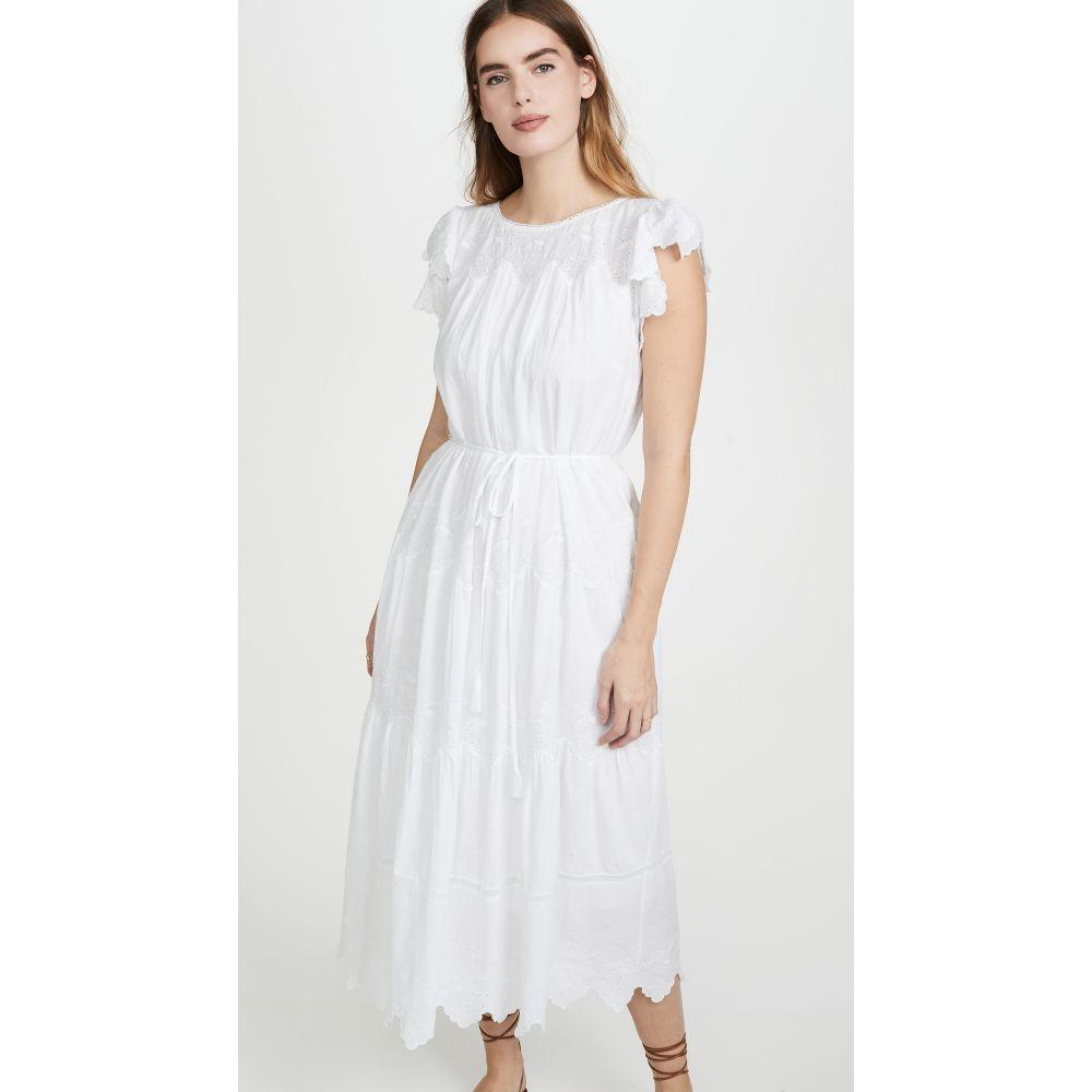 レベッカ テイラー La Vie Rebecca Taylor レディース ワンピース ノースリーブ ワンピース・ドレス【Sleeveless Embroidered Voile Dress】Milk