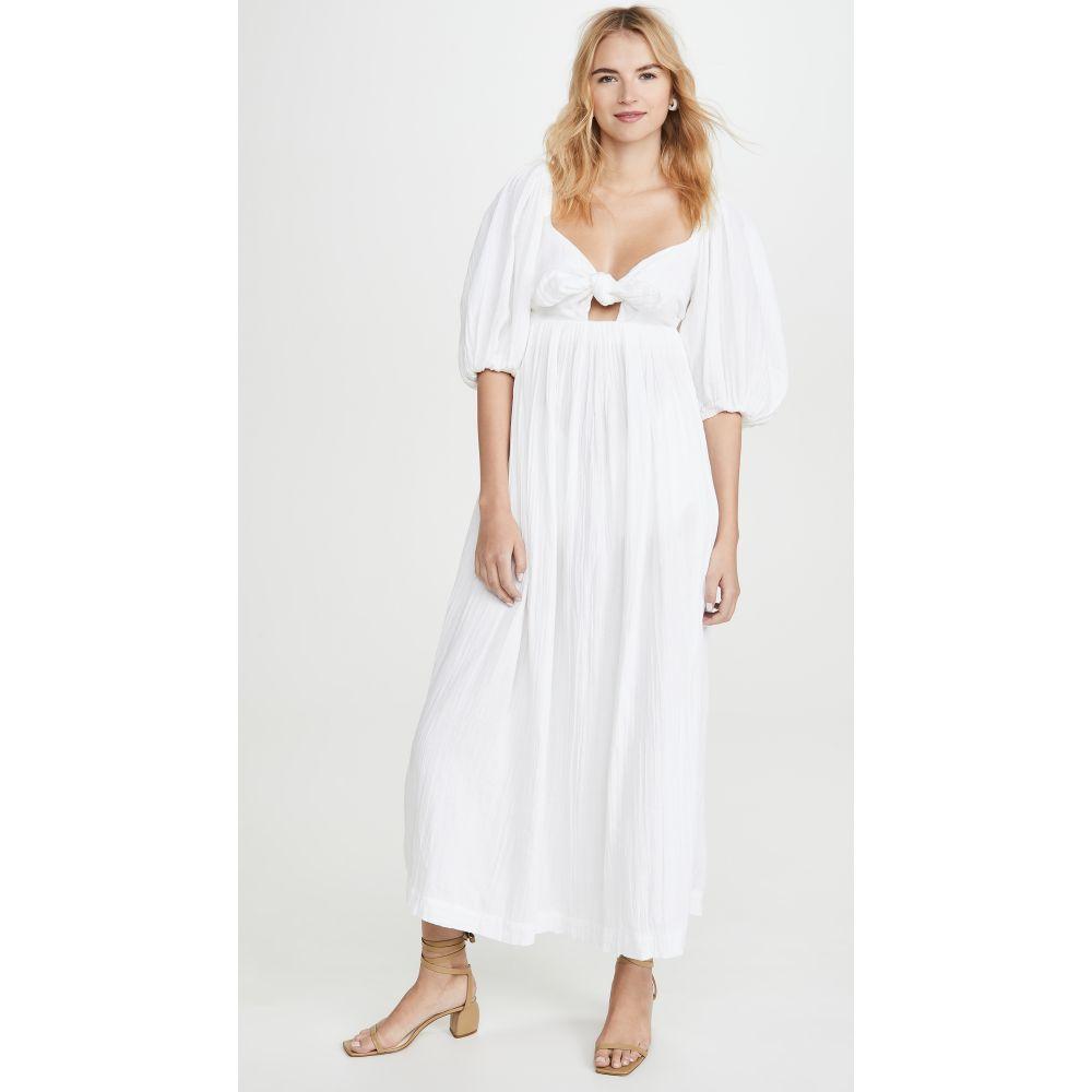 マラ ホフマン Mara Hoffman レディース ビーチウェア ワンピース・ドレス 水着・ビーチウェア【Violet Dress】White