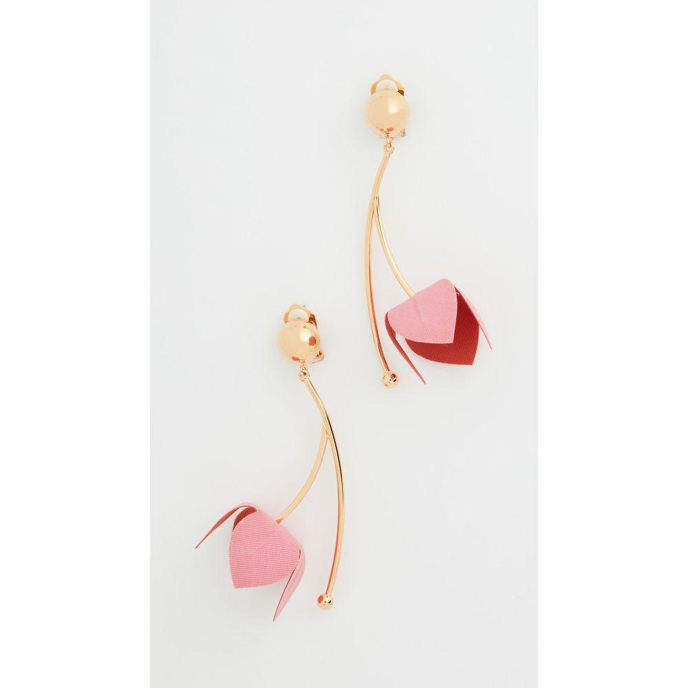 マルニ Marni レディース イヤリング・ピアス ジュエリー・アクセサリー【Fabric and Strass Earrings】Arabesque