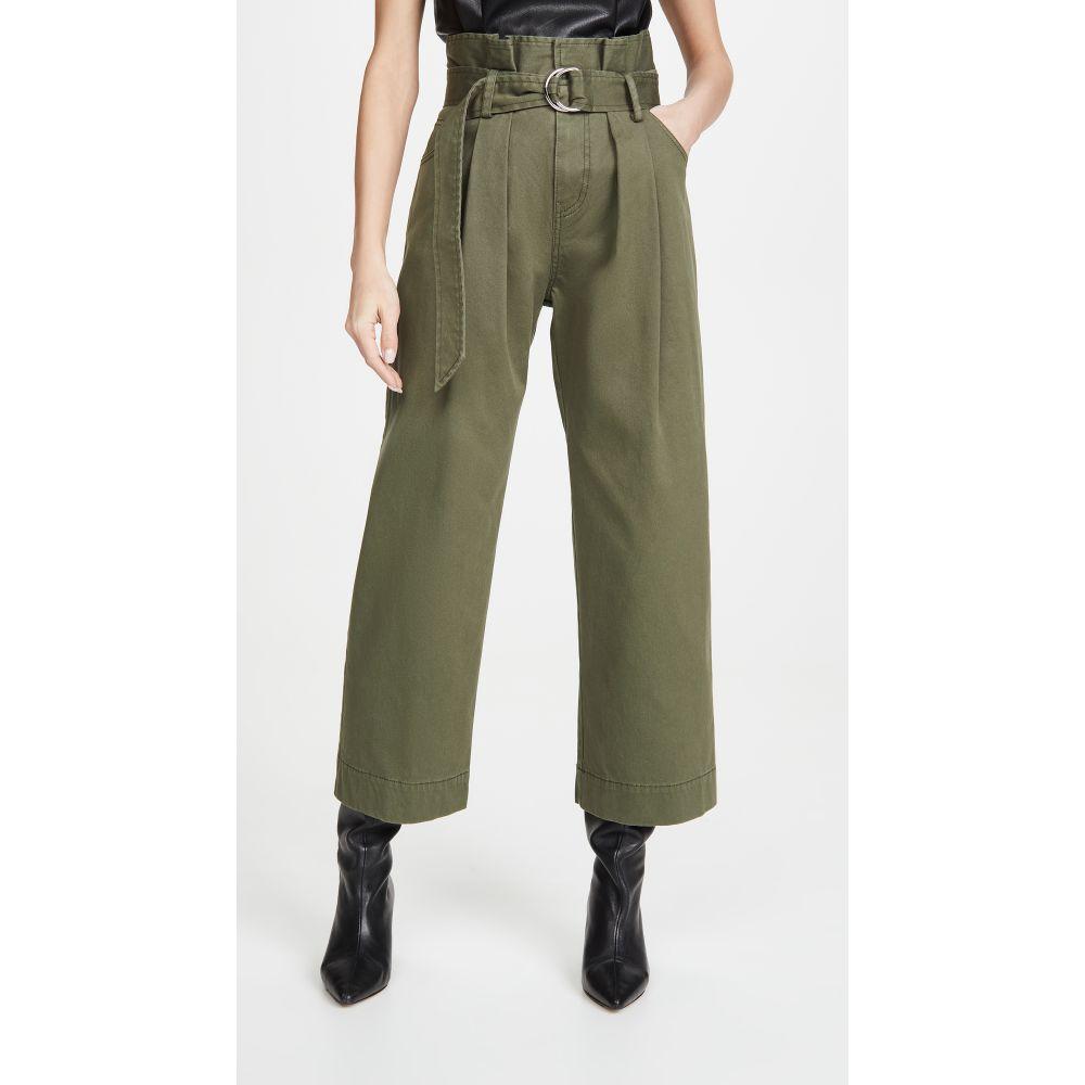 マリッサ ウェッブ Marissa Webb レディース ボトムス・パンツ 【Dixon Paper Bag Pants】Military Green