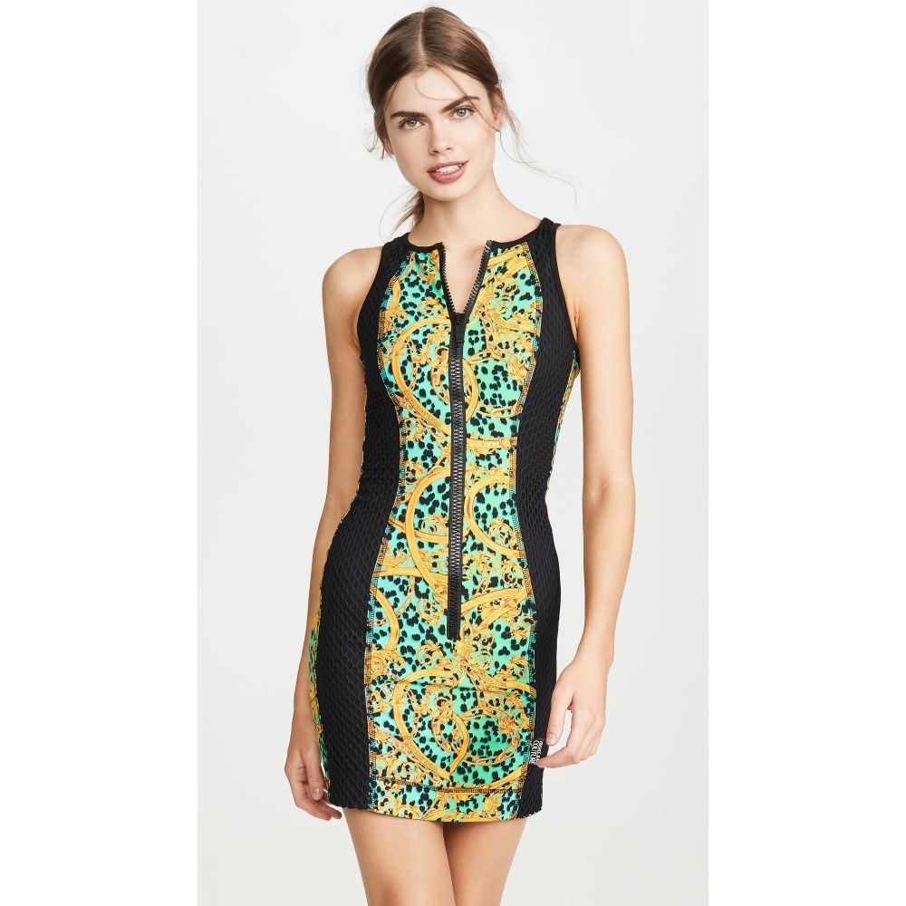 ヴェルサーチ Versace Jeans Couture レディース ワンピース ワンピース・ドレス【Zip Up Dress】Pure Mint