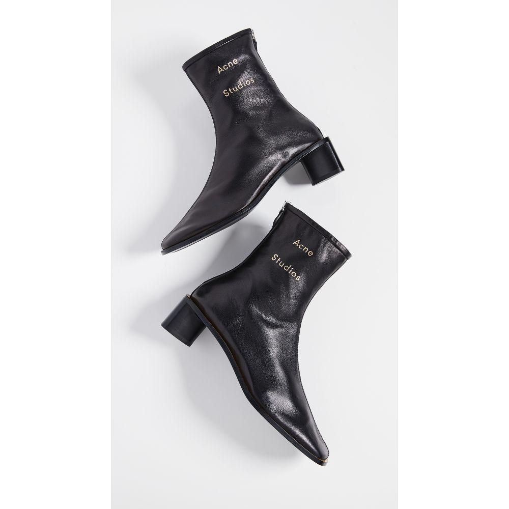 アクネ ストゥディオズ Acne Studios レディース ブーツ ブーティー シューズ・靴【Bertine Booties】Black/Black