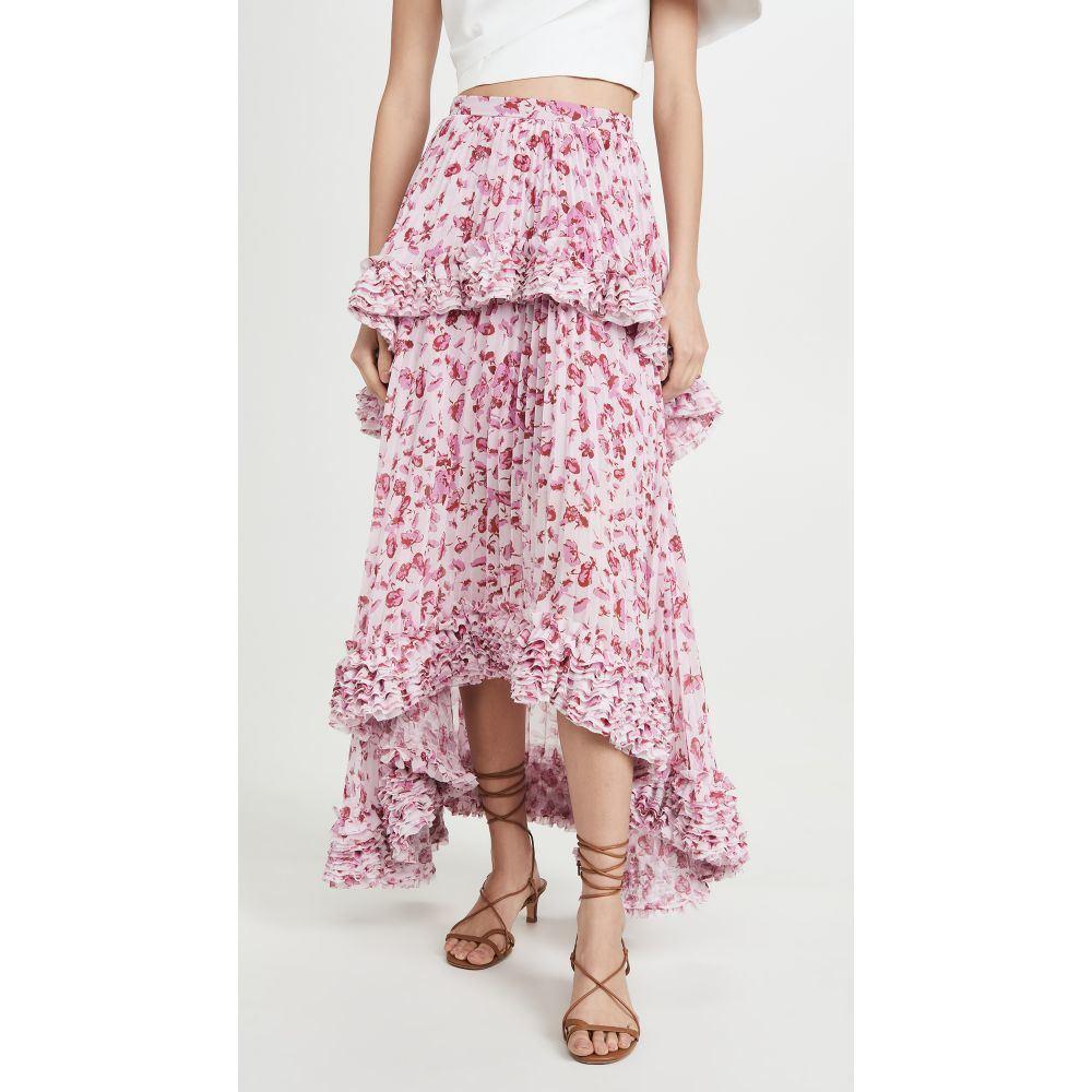アムール AMUR レディース スカート 【Nita Skirt】Frozen Rose Pressed Floral