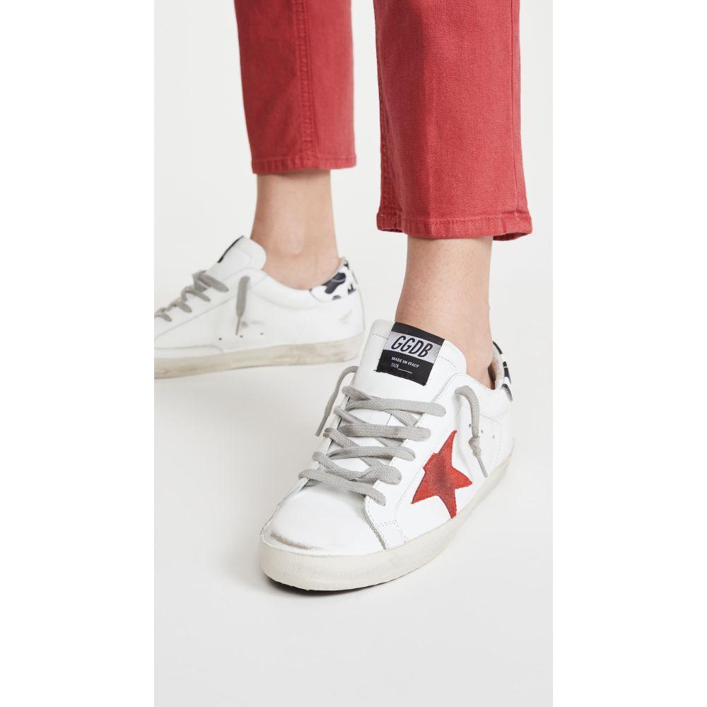 ゴールデン グース Golden Goose レディース スニーカー シューズ・靴【Superstar Sneakers】White/Red Star