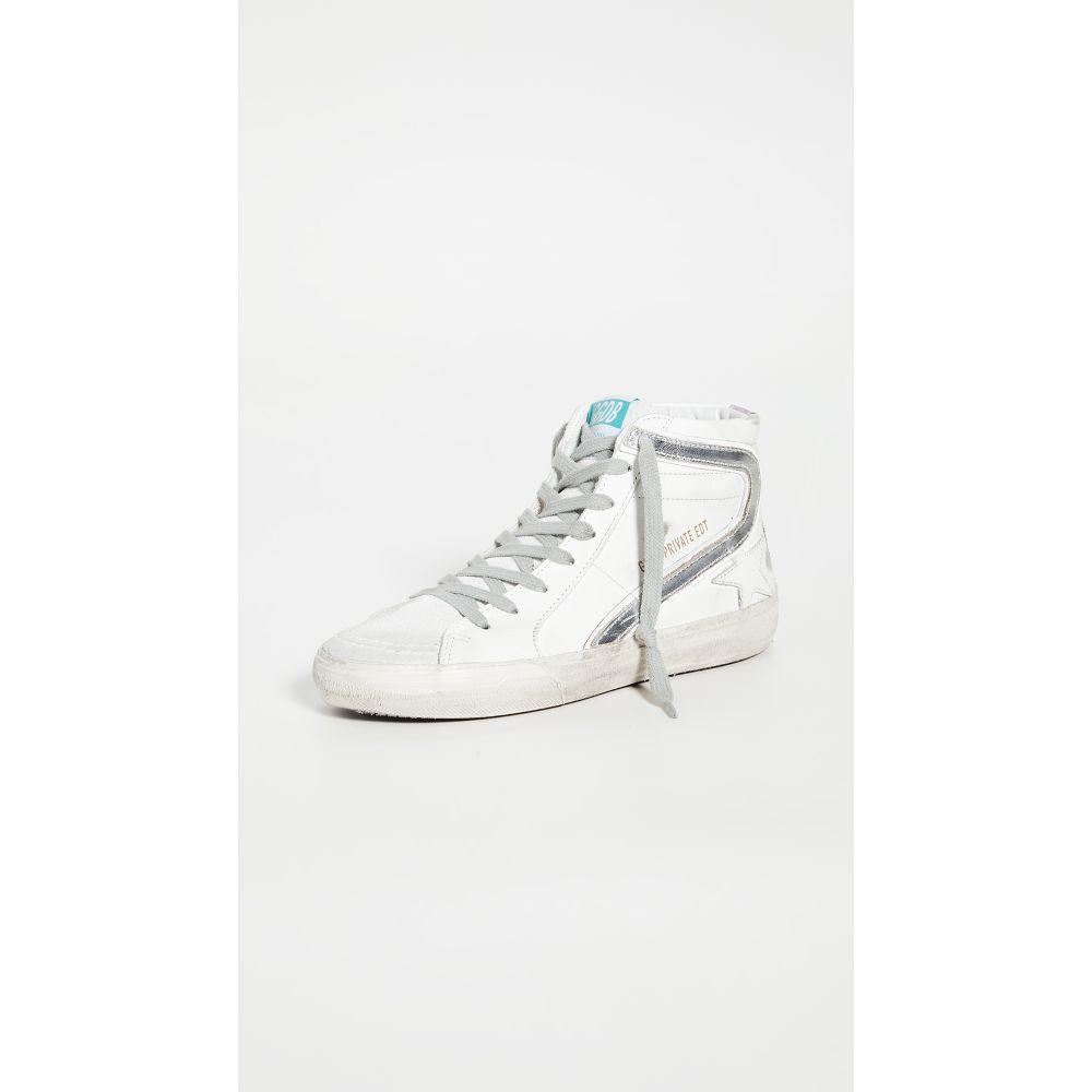 ゴールデン グース Golden Goose レディース スニーカー シューズ・靴【Slide Sneakers】White/Lavender