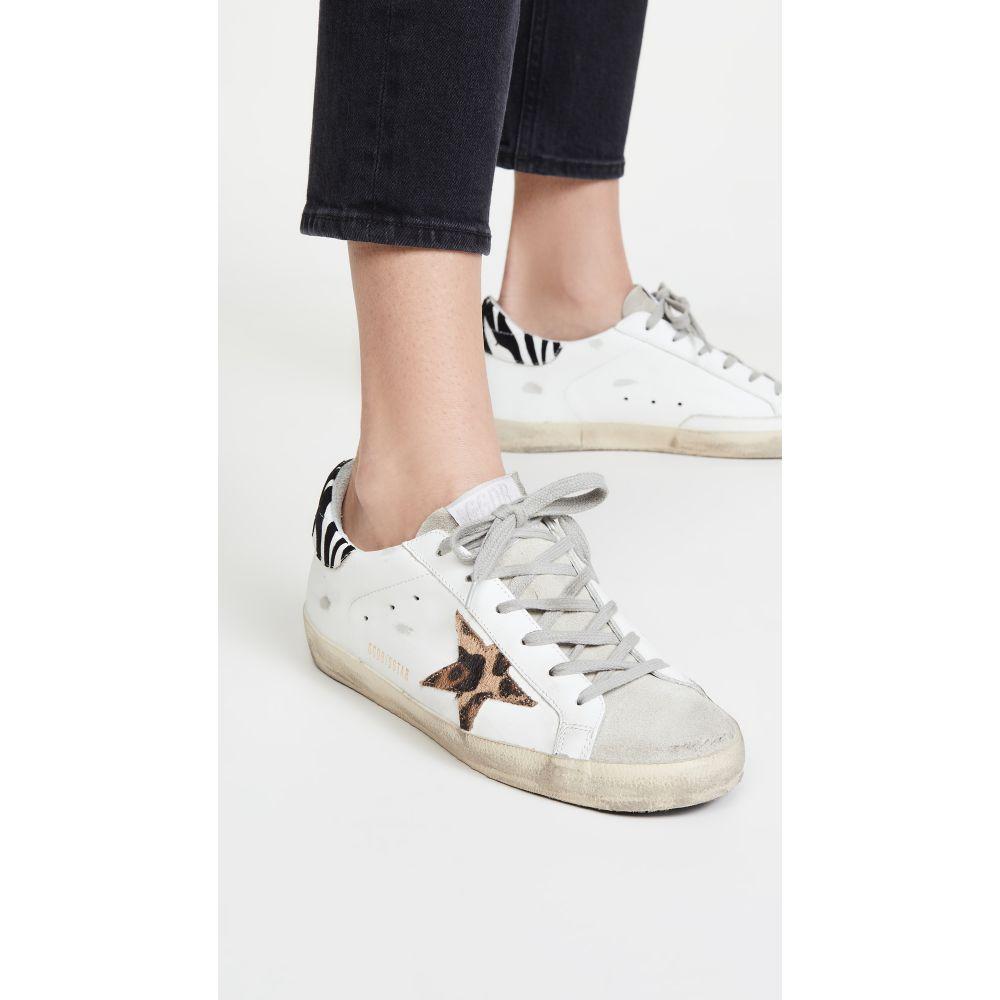 ゴールデン グース Golden Goose レディース スニーカー シューズ・靴【Superstar Sneakers】White/Leo/Zigger