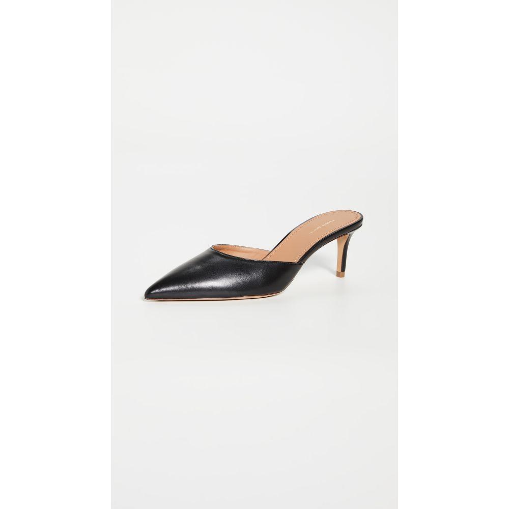 マンサーガブリエル Mansur Gavriel レディース スリッパ シューズ・靴【New Slipper Heel Mules】Black