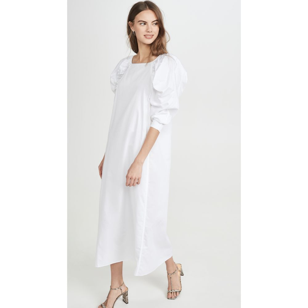 マラ ホフマン Mara Hoffman レディース ワンピース ワンピース・ドレス【Elisabetta Dress】White