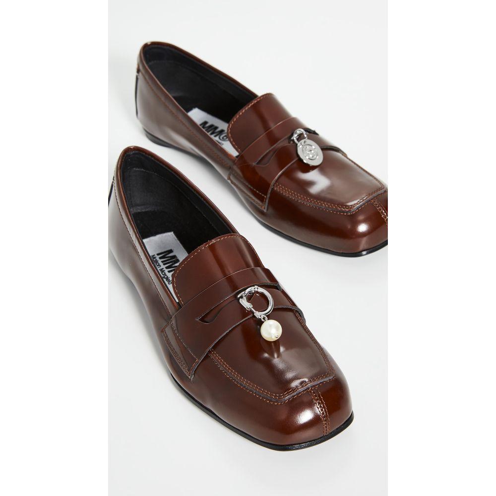 メゾン マルジェラ MM6 Maison Margiela レディース ローファー・オックスフォード シューズ・靴【Chain Loafers】Arabian Spice