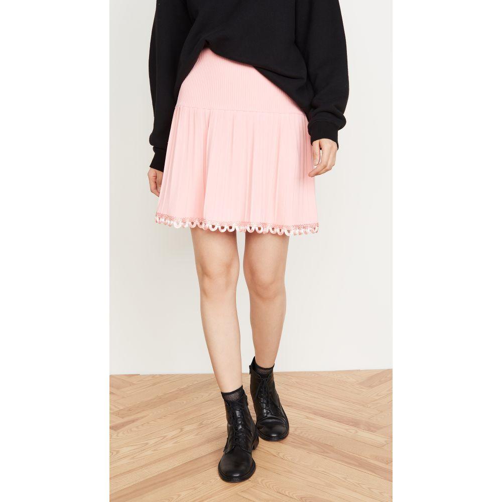 モスキーノ Moschino レディース ミニスカート スカート【Pleated Miniskirt】Pink