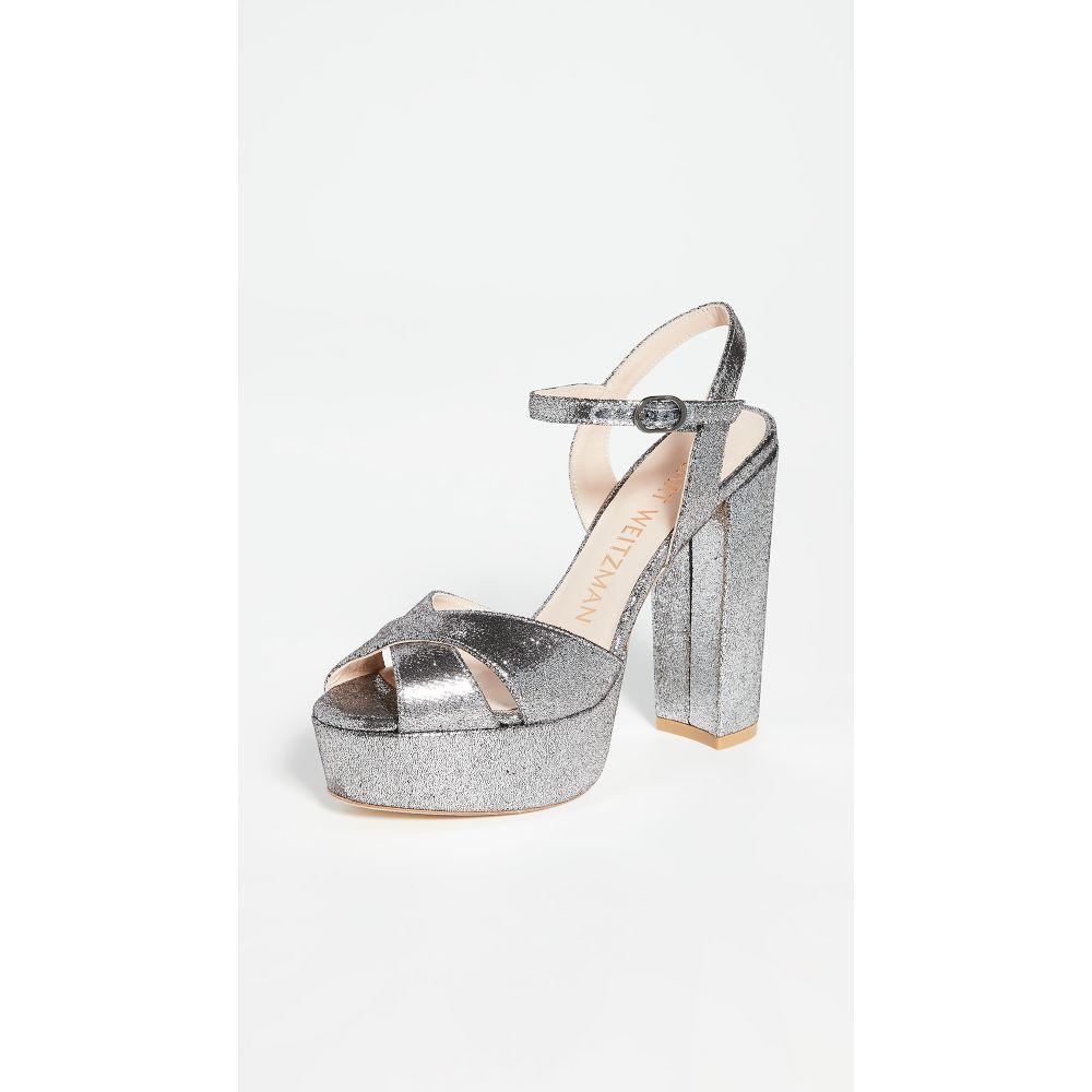 スチュアート ワイツマン Stuart Weitzman レディース サンダル・ミュール シューズ・靴【Soliesse Sandals】Silver