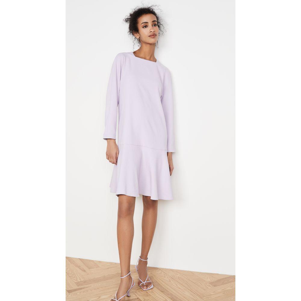 ティビ Tibi レディース ワンピース ワンピース・ドレス【Drop Waist Dress】Lavender