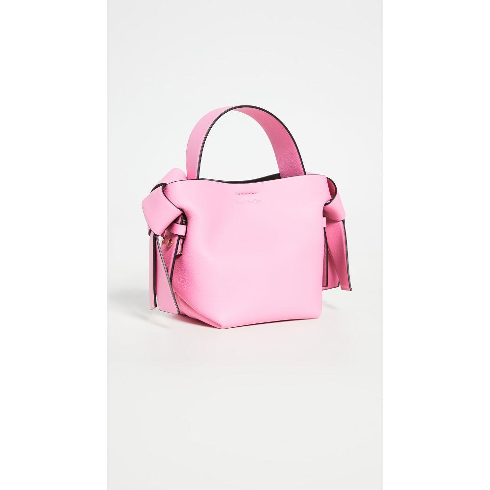 アクネ ストゥディオズ Acne Studios レディース ショルダーバッグ バッグ【Musubi Micro Bag】Pink/Black