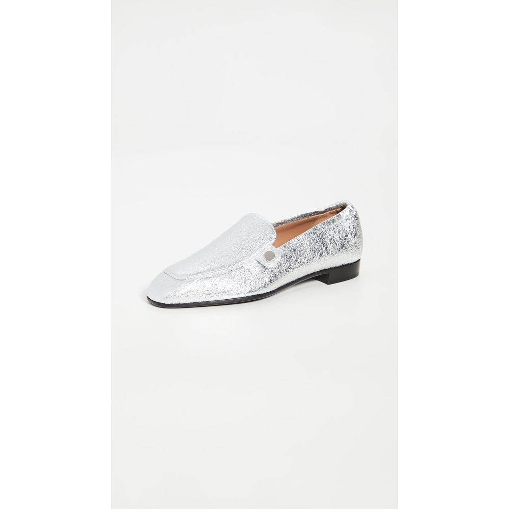 ローレンス ディケイド Laurence Dacade レディース ローファー・オックスフォード シューズ・靴【Angela Loafers】Silver