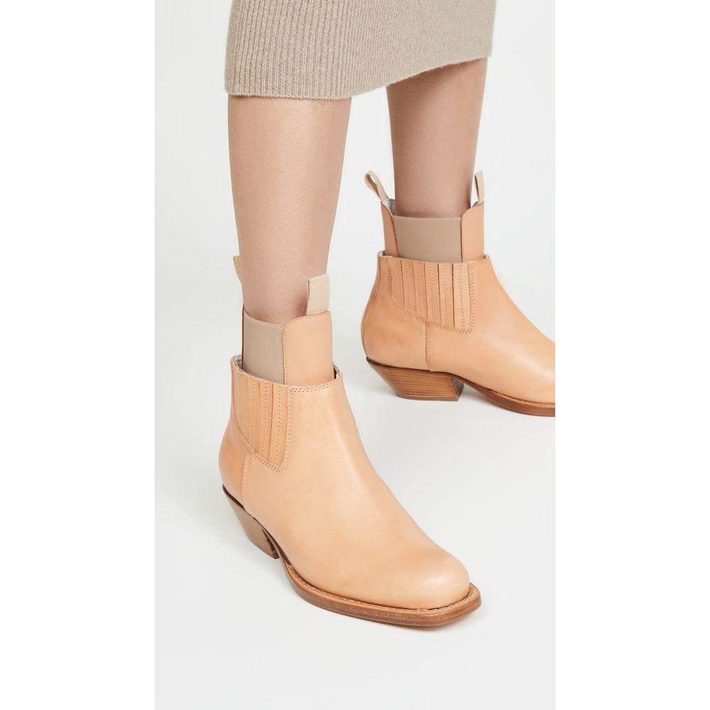 メゾン マルジェラ MM6 Maison Margiela レディース ブーツ ブーティー シューズ・靴【Layered Booties】Oak Buff