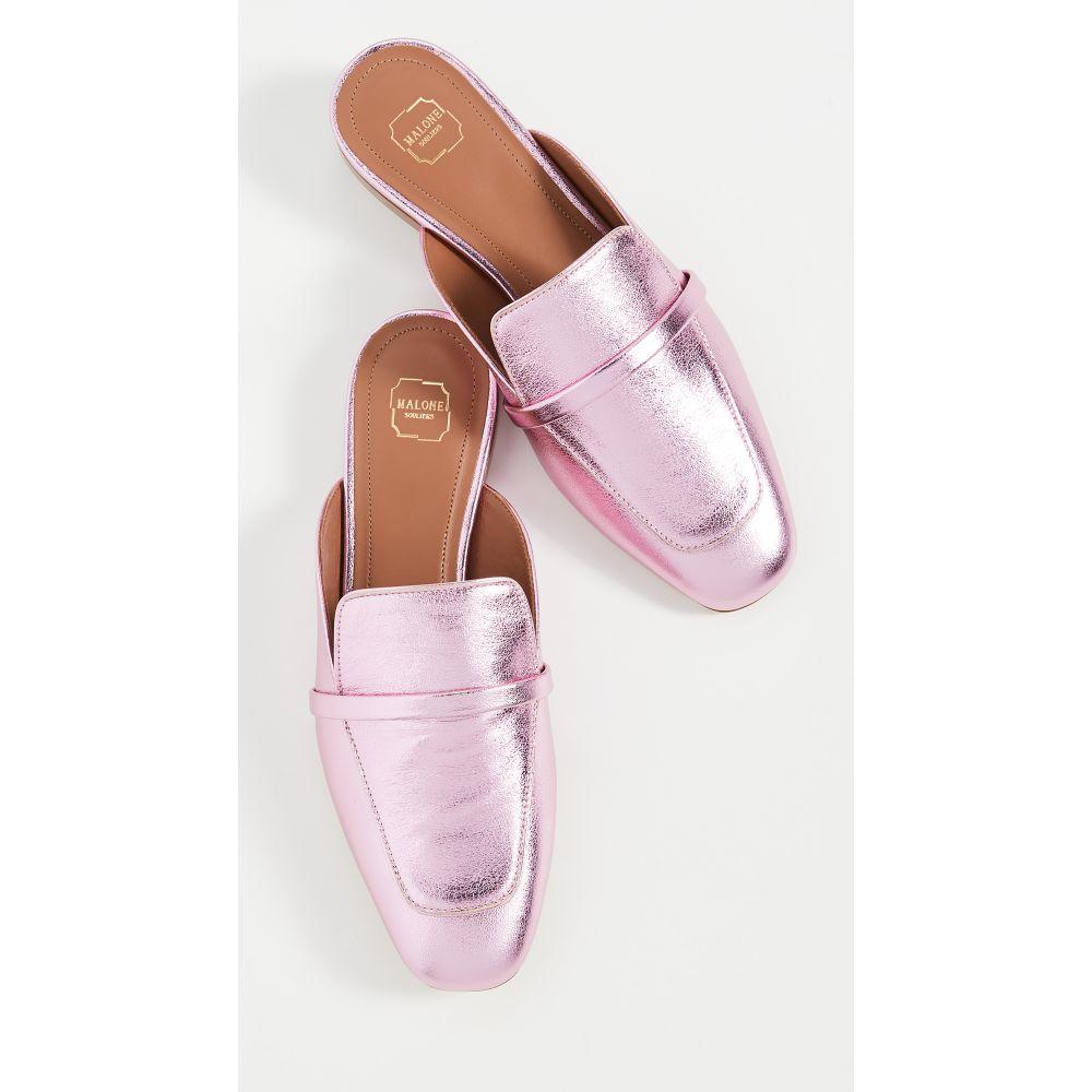 マローンスリアーズ Malone Souliers レディース サンダル・ミュール シューズ・靴【Jada Flats】Baby Pink/Baby Pink