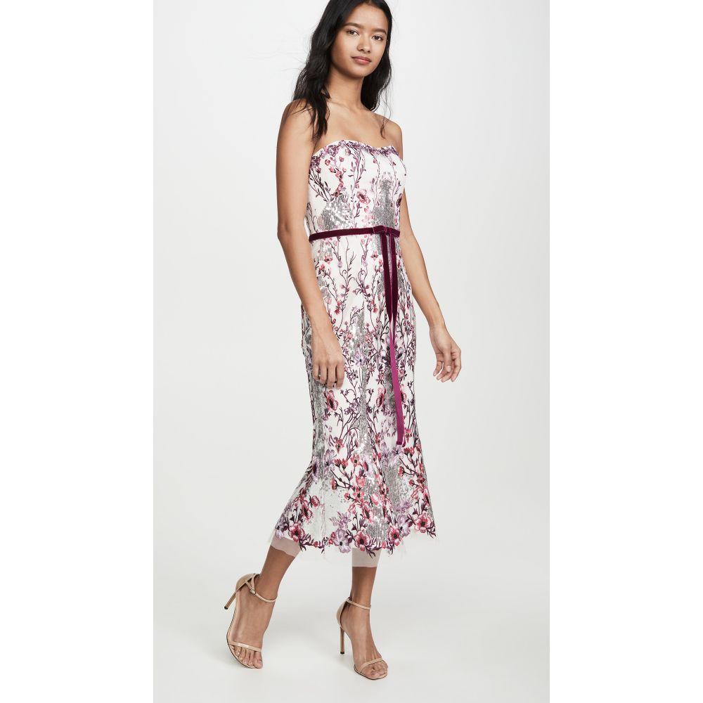 ノッテ バイ マルケッサ Marchesa Notte レディース パーティードレス ワンピース・ドレス【Strapless Sequin Embroidered Gown】Lilac