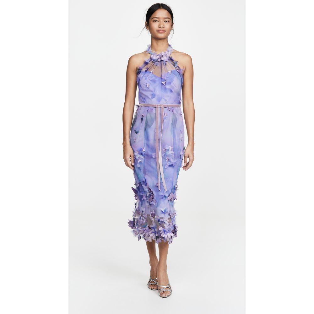 ノッテ バイ マルケッサ Marchesa Notte レディース ワンピース ノースリーブ ワンピース・ドレス【Sleeveless Tulle Halter Dress】Lilac