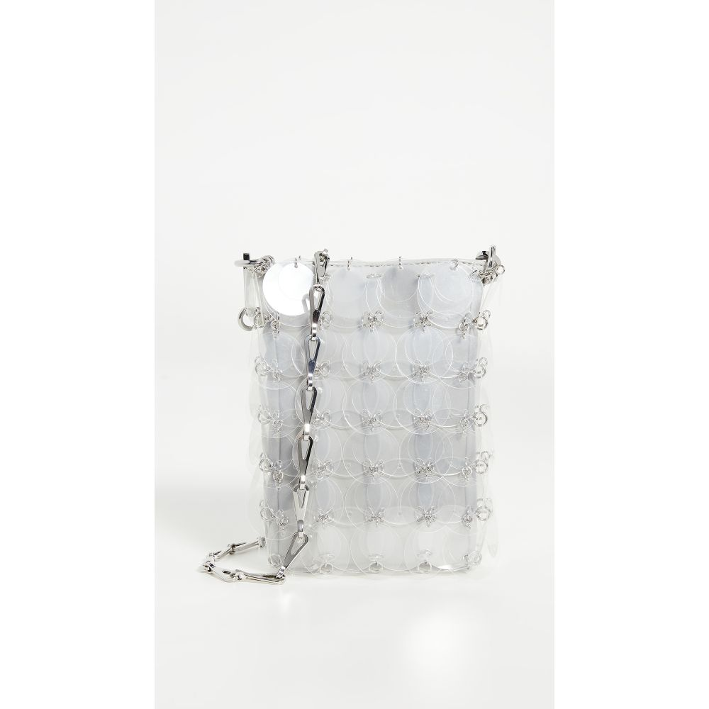 パコラバンヌ Paco Rabanne レディース ショルダーバッグ バッグ【Sparkle Mini 69 Bag】Transparent