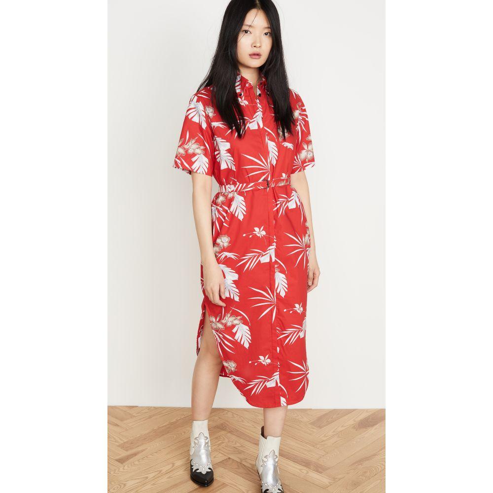 パコラバンヌ Paco Rabanne レディース ワンピース ワンピース・ドレス【Hawaii Dress】Red