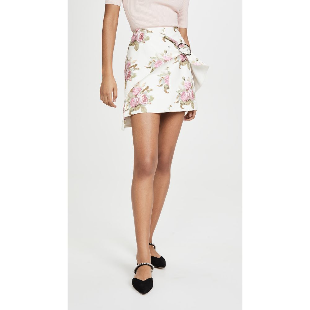 パコラバンヌ Paco Rabanne レディース スカート 【Printed Skirt】Light Beige Bouquet