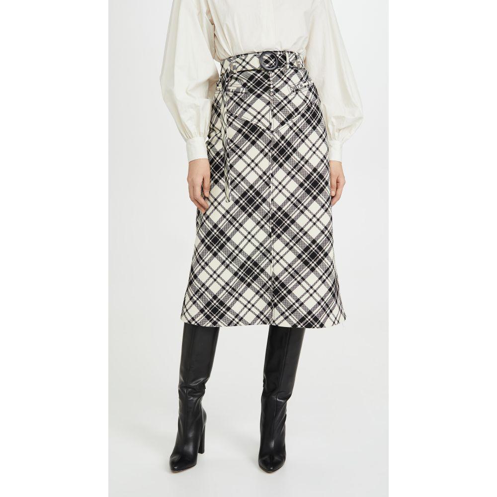 エラリー Ellery レディース スカート 【Matango Check Skirt】Plaid