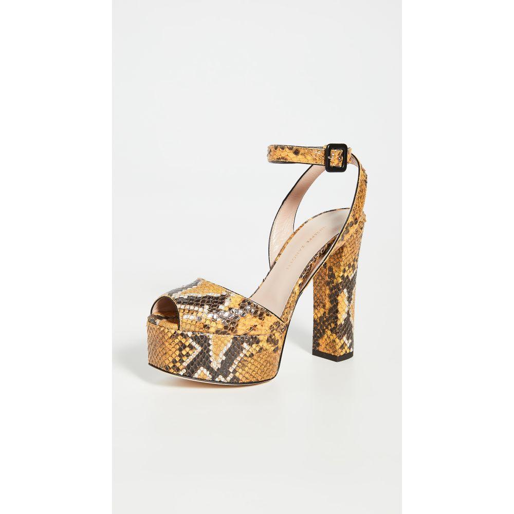 ジュゼッペ ザノッティ Giuseppe Zanotti レディース サンダル・ミュール シューズ・靴【Lavinia PlatO Sandals】Mirelle Polline
