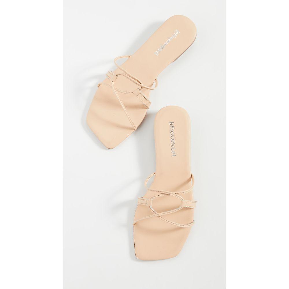 ジェフリー キャンベル Jeffrey Campbell レディース サンダル・ミュール シューズ・靴【Adison Sandals】Natural