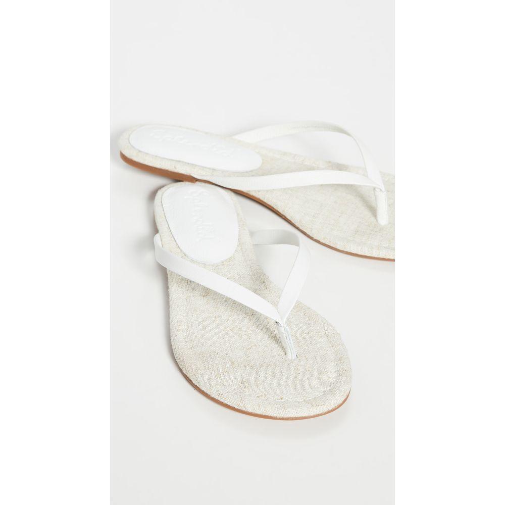 スプレンディッド Splendid レディース ビーチサンダル シューズ・靴【Ashlee Flip Flops】White