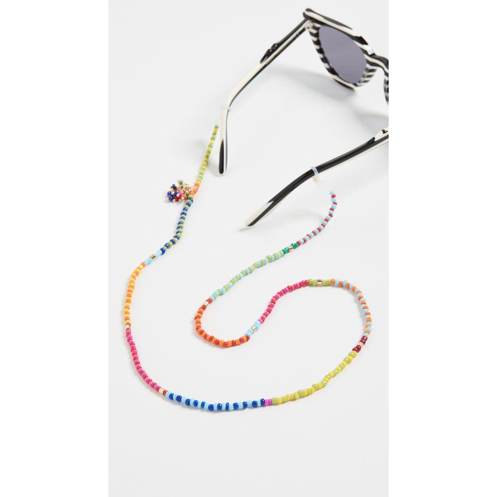 ロクサーヌ アスリーヌ Roxanne Assoulin レディース ファッション小物 【Patchwork Beaded Eyewear Chain】Multi