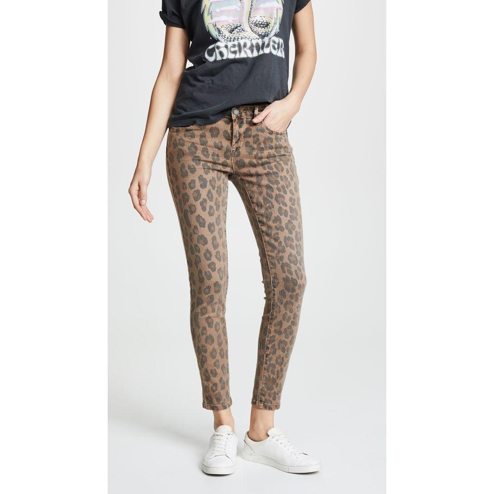 ブランクデニム Blank Denim レディース ジーンズ・デニム ボトムス・パンツ【Leopard Print Skinny Jeans】Catwalk