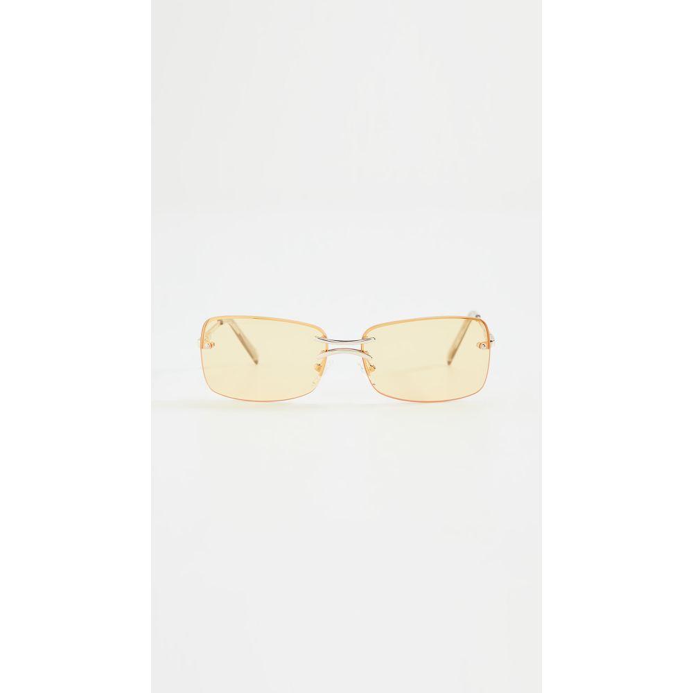ル スペックス Le Specs レディース メガネ・サングラス 【That's Hot Sunglasses】Gold Sunshine Tint