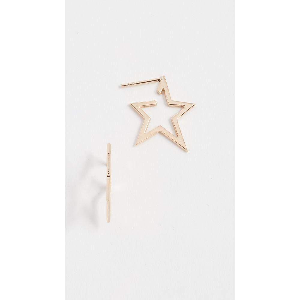 ジェニファーズーナー Jennifer Zeuner Jewelry レディース イヤリング・ピアス ジュエリー・アクセサリー【Sade Small Earrings】Yellow Gold