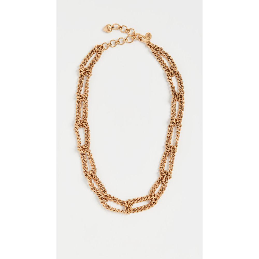 ブリンカー&エリサ Brinker & Eliza レディース ネックレス ジュエリー・アクセサリー【Linked Up Necklace】Gold