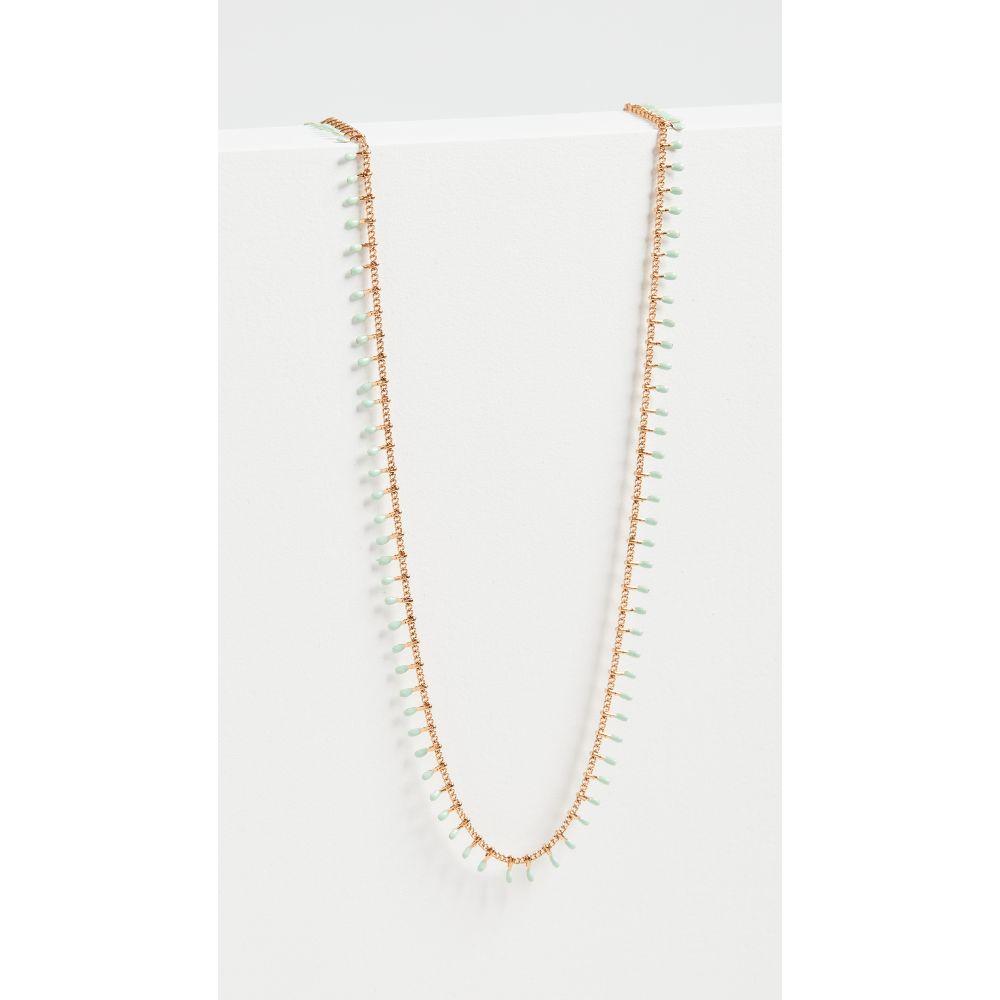 イザベル マラン Isabel Marant レディース ネックレス ジュエリー・アクセサリー【Casablanca Necklace】Mint Green