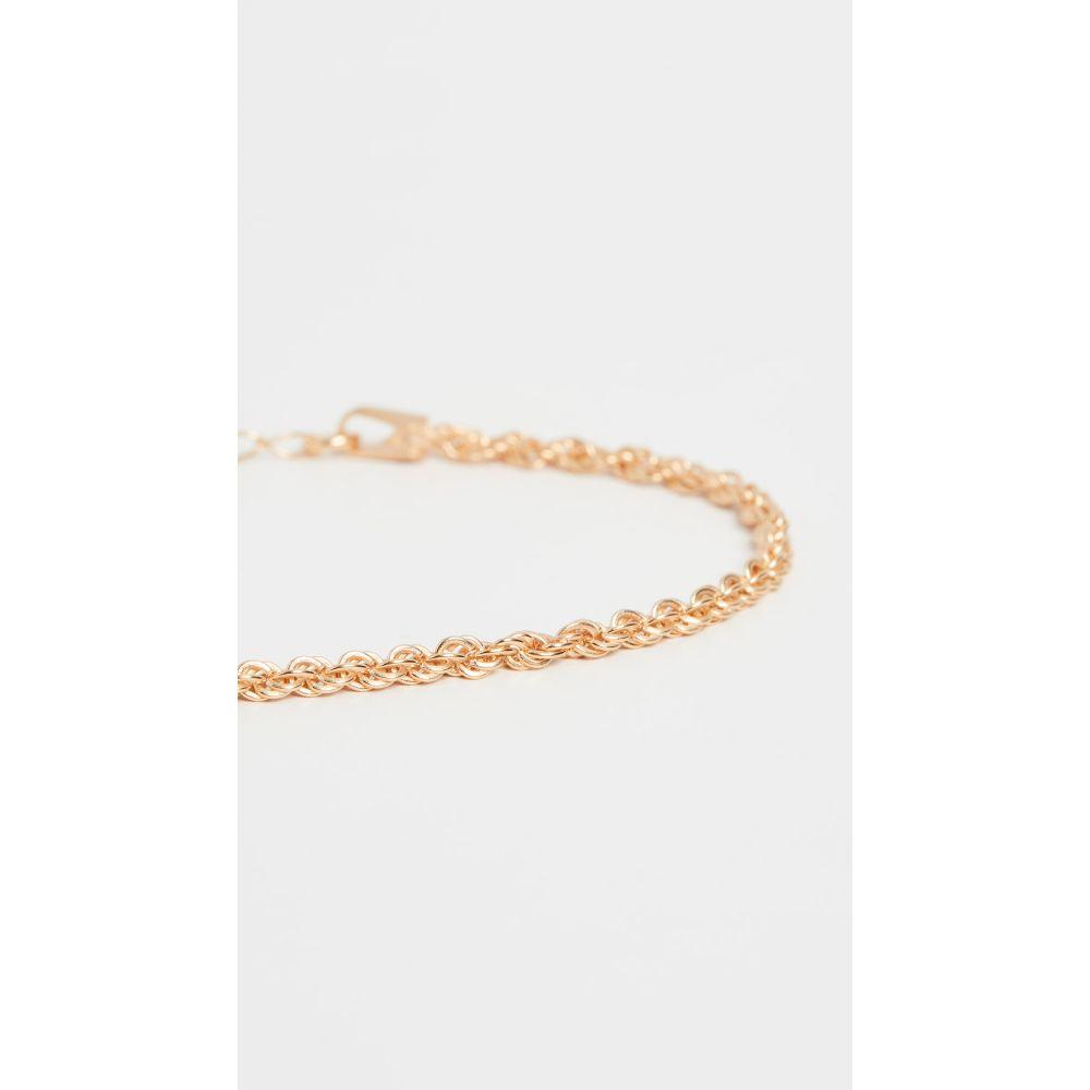 メゾンアイレム Maison Irem レディース ブレスレット ジュエリー・アクセサリー【Rope Glenn Bracelet】Gold