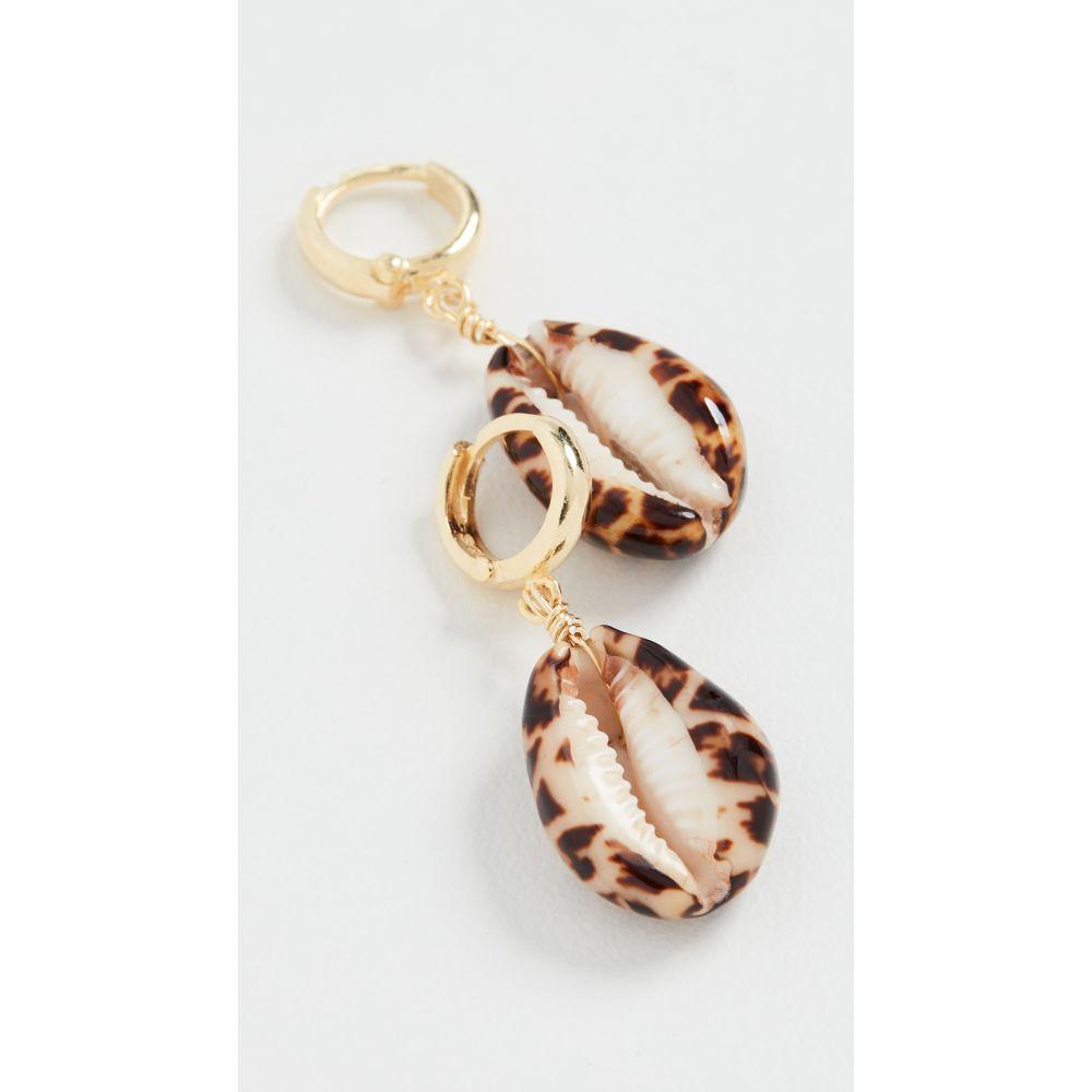 メゾンアイレム Maison Irem レディース イヤリング・ピアス ジュエリー・アクセサリー【Shelly Terracotta Tiger Earrings】Terracotta Tiger