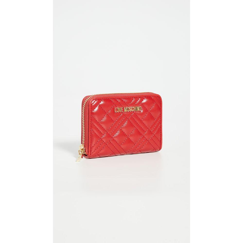 モスキーノ Moschino レディース 財布 【Quilted Wallet】Red