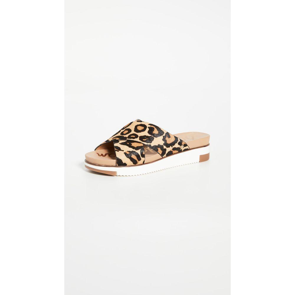 サム エデルマン Sam Edelman レディース サンダル・ミュール シューズ・靴【Audrea Slides】New Nude Leopard