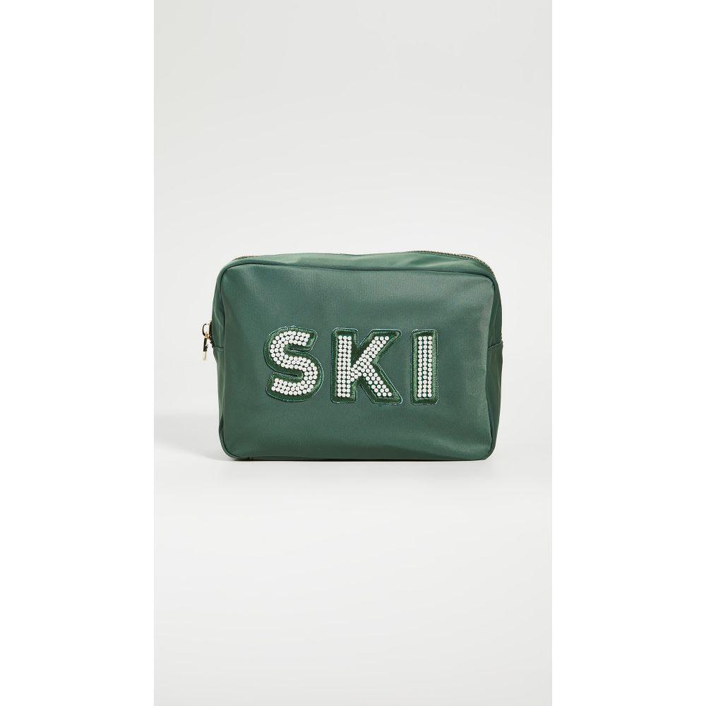 ストーニークローバーレーン Stoney Clover Lane レディース ポーチ 【Ski Pearl Large Pouch】Emerald